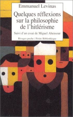Essential reading : From books all I seek is to give myself pleasure by an honorable pastime: or if I do study, I seek only that branch of learning which deals with myself and which teaches me how to live and die well (Montaigne) .1934QuelquesReflexionsPhilosophieHitlerisme_m
